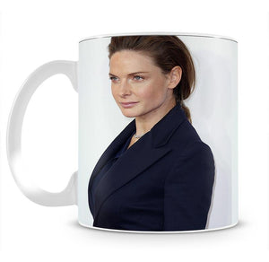 Rebecca Ferguson Red Carpet Mug - Canvas Art Rocks - 2