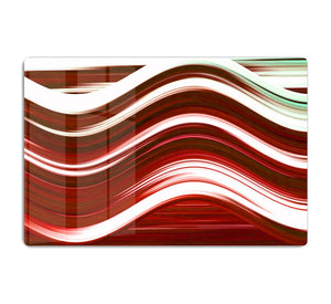 Red Wave HD Metal Print - Canvas Art Rocks - 1