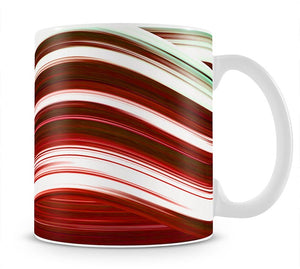 Red Wave Mug - Canvas Art Rocks - 1