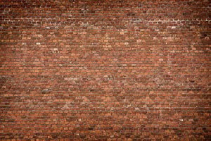 Red brick wall texture Wall Mural Wallpaper - Canvas Art Rocks - 1