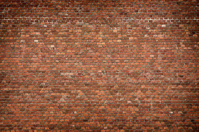 Red brick wall texture Wall Mural Wallpaper