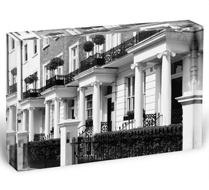 Regency Georgian terraced town house Acrylic Block - Canvas Art Rocks - 1