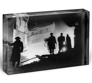 Rescuers in Soho London Acrylic Block - Canvas Art Rocks - 1