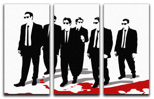 Reservoir Dogs 3 Split Canvas Print - Canvas Art Rocks