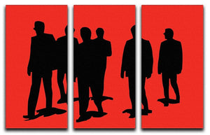Reservoir Dogs Red 3 Split Panel Canvas Print - Canvas Art Rocks - 4