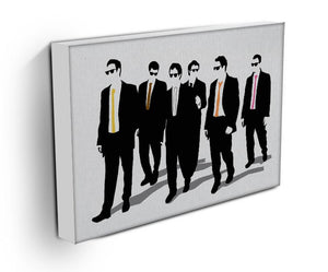 Reservoir Dogs Silhouettes Canvas Print & Poster - Canvas Art Rocks
