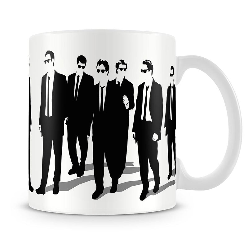Reservoir Dogs Silhouettes Mug - Canvas Art Rocks