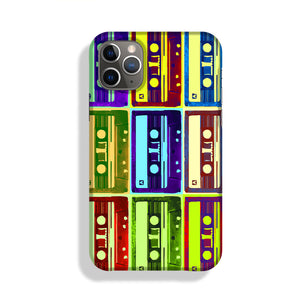 Retro Tape Cassettes Phone Case iPhone 11 Pro Max