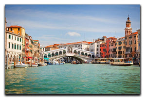 Rialto Bridge Canvas Print or Poster  - Canvas Art Rocks - 1