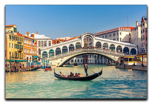 Rialto Bridge Venice Canvas Print or Poster  - Canvas Art Rocks - 1
