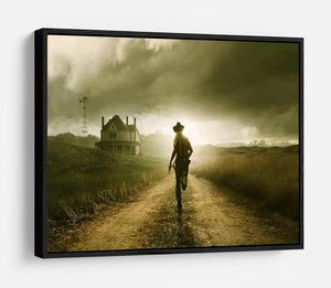 Rick Running The Walking Dead HD Metal Print