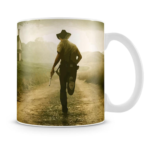 Rick Running The Walking Dead Mug