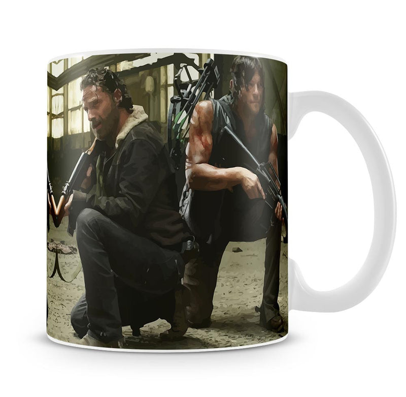 Rick and Daryl The Walking Dead Mug - Canvas Art Rocks