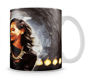 Rihanna Mug - Canvas Art Rocks - 1