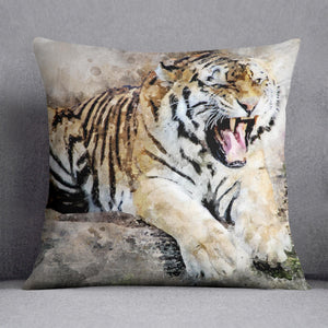 Roaring Tiger Cushion
