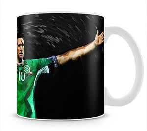 Robbie Keane Ireland Mug - Canvas Art Rocks - 1