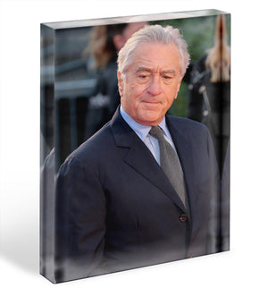 Robert De Niro Acrylic Block - Canvas Art Rocks - 1