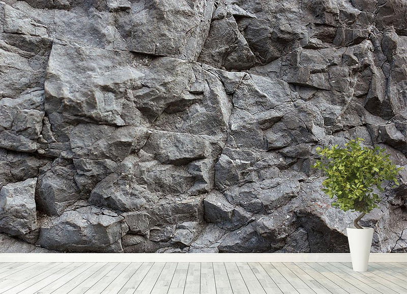 Rock texture background Wall Mural Wallpaper - Canvas Art Rocks - 4