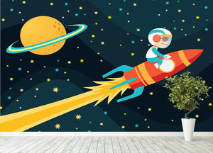 Rocket Boy Wall Mural Wallpaper - Canvas Art Rocks - 4