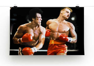 Rocky III Print - Canvas Art Rocks - 2
