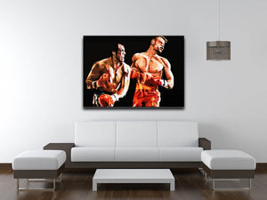 Rocky III Canvas Print & Poster - Canvas Art Rocks