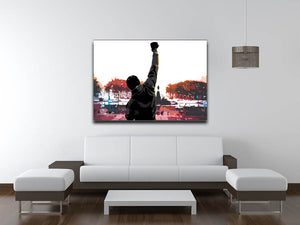 Rocky in Training Canvas Print & Poster - Canvas Art Rocks