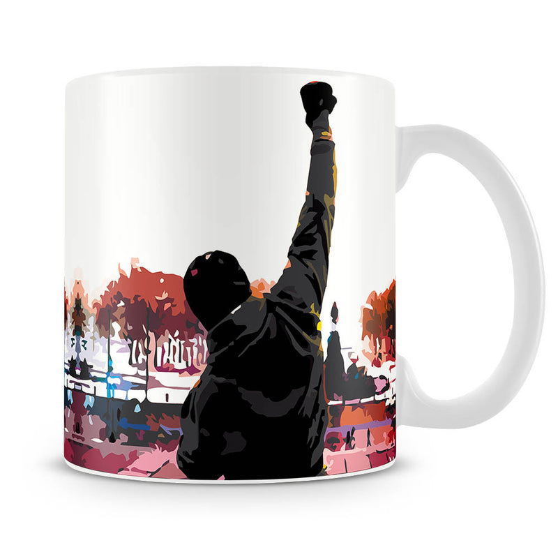 Rocky in Training Mug - Canvas Art Rocks