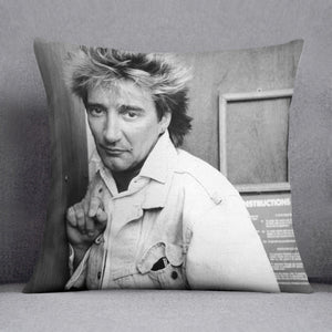 Rod Stewart in 1986 Cushion