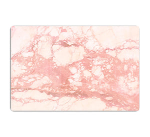 Rose Gold Marble HD Metal Print - Canvas Art Rocks - 1