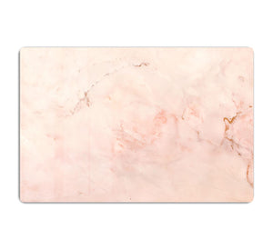 Rose Gold Minimal Marble HD Metal Print - Canvas Art Rocks - 1