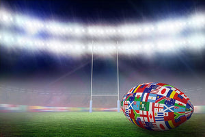 Rugby world cup Wall Mural Wallpaper - Canvas Art Rocks - 1