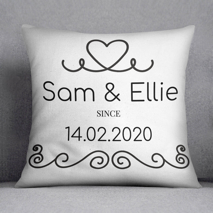 Since Personalised Cushion