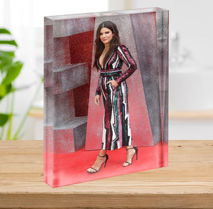 Sandra Bullock Acrylic Block - Canvas Art Rocks - 2