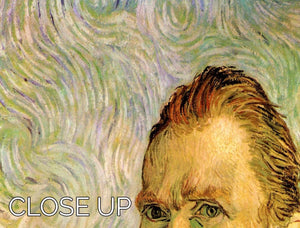Self-Portrait 2 by Van Gogh 3 Split Panel Canvas Print - Canvas Art Rocks - 3