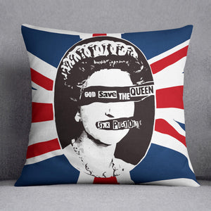 Sex Pistols God Save The Queen Cushion