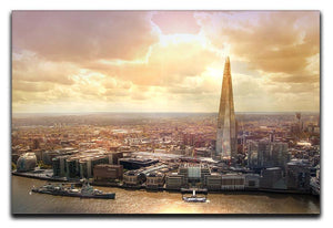 Shard of Glass at sunset Canvas Print or Poster  - Canvas Art Rocks - 1