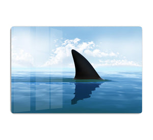 Shark fin above water HD Metal Print