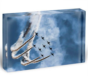 Show of force jets Acrylic Block - Canvas Art Rocks - 1