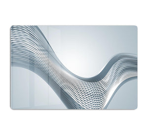 Silver Wave HD Metal Print - Canvas Art Rocks - 1