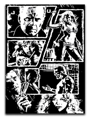 Sin City Comic Strip Print - They'll Love It - 1
