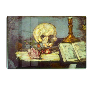 Skull by Degas HD Metal Print - Canvas Art Rocks - 1