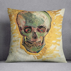 Skull by Van Gogh Cushion