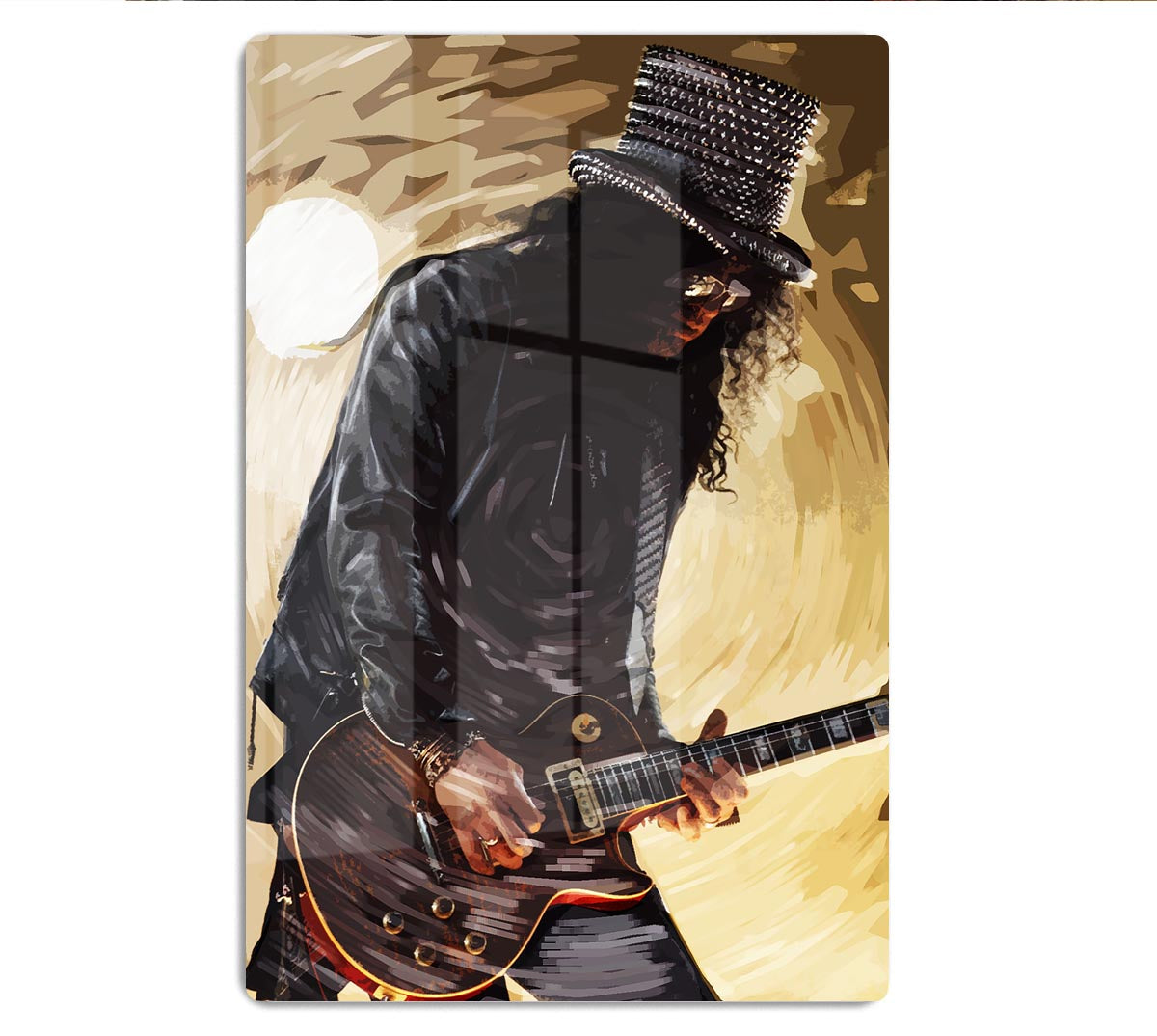GUNS N ROSES SLASH CANVAS WALL ART PICTURE PRINTS FREE FAST UK DELIVERY