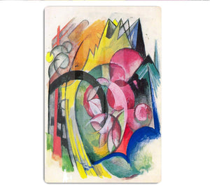 Small composition II by Franz Marc HD Metal Print