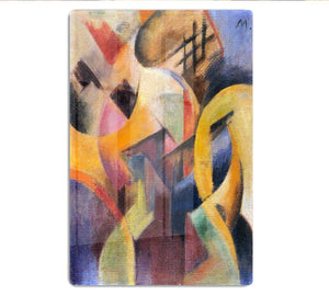 Small composition I by Franz Marc HD Metal Print