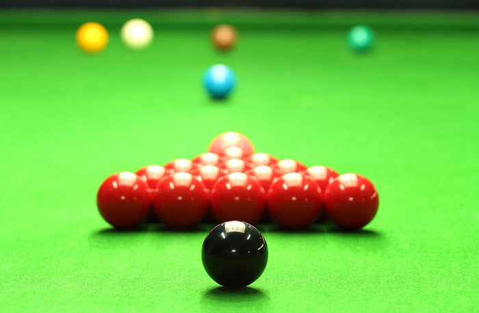 Snooker balls Wall Mural Wallpaper
