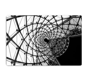 Spiral Architecture Structure HD Metal Print - Canvas Art Rocks - 1