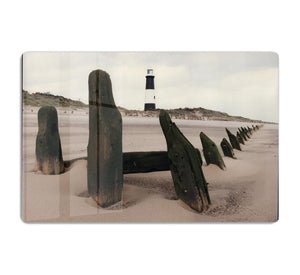 Spurn Point Lighthouse HD Metal Print - Canvas Art Rocks - 1
