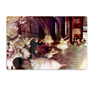 Stage trial by Degas HD Metal Print - Canvas Art Rocks - 1