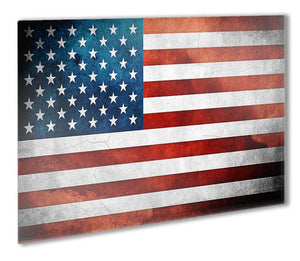 USA Stars and Stripes Flag Metal Print - Canvas Art Rocks - 1